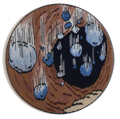 Falling stones by Kristin Sæterdal