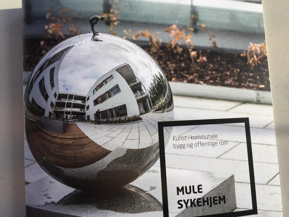 Sculpture, metal sphere