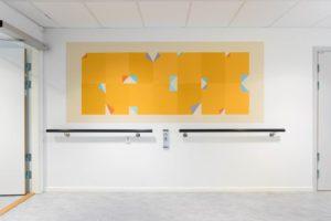 Wall Painting Rett-Vrang, by Katrine Giæver